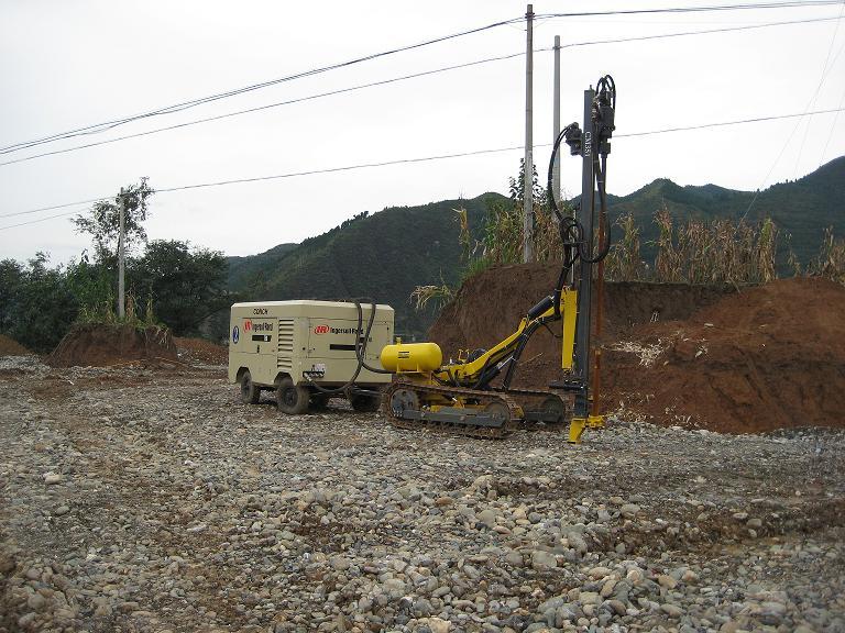 挖深度最深达71.1m,爆破方量超过70000立方米,工程造价约30高清图片